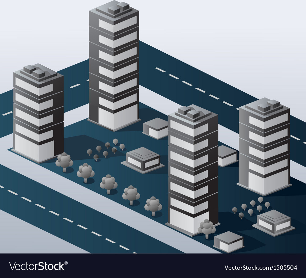 Urban area vector | Price: 1 Credit (USD $1)