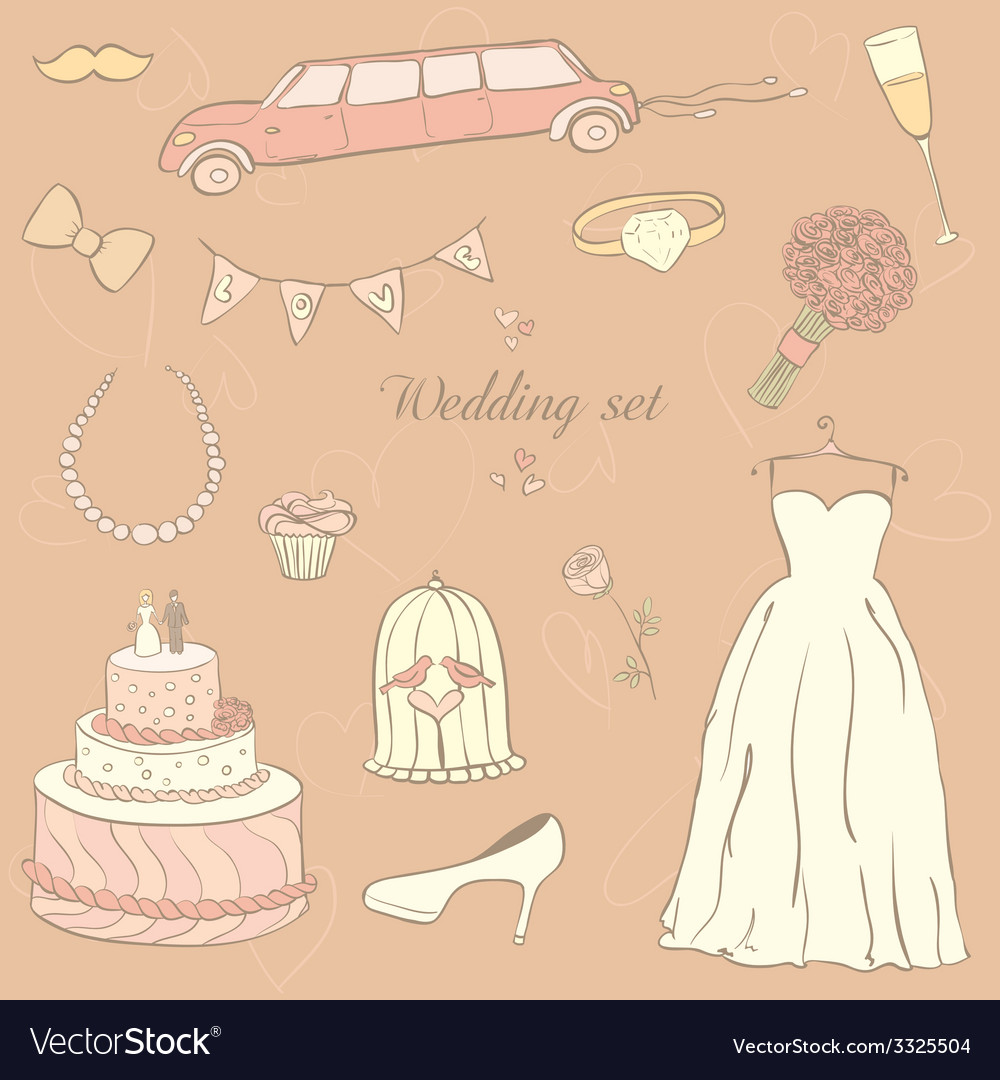 Weddingday vector | Price: 1 Credit (USD $1)