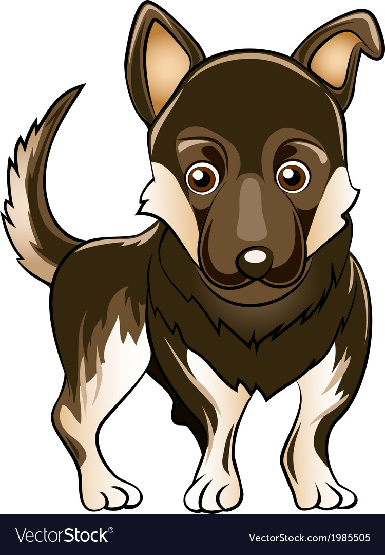 German shepherd dog vector | Price: 1 Credit (USD $1)