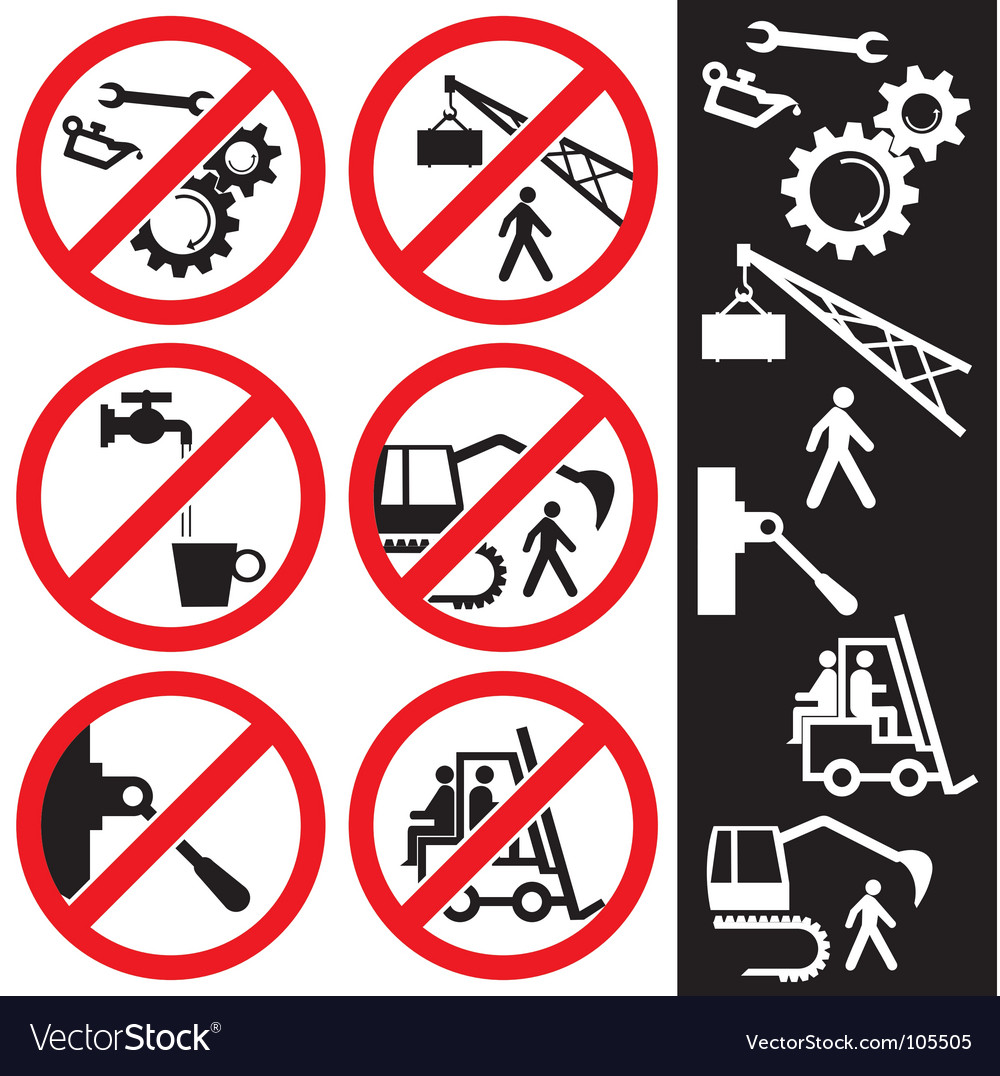 Icons for safety vector | Price: 1 Credit (USD $1)