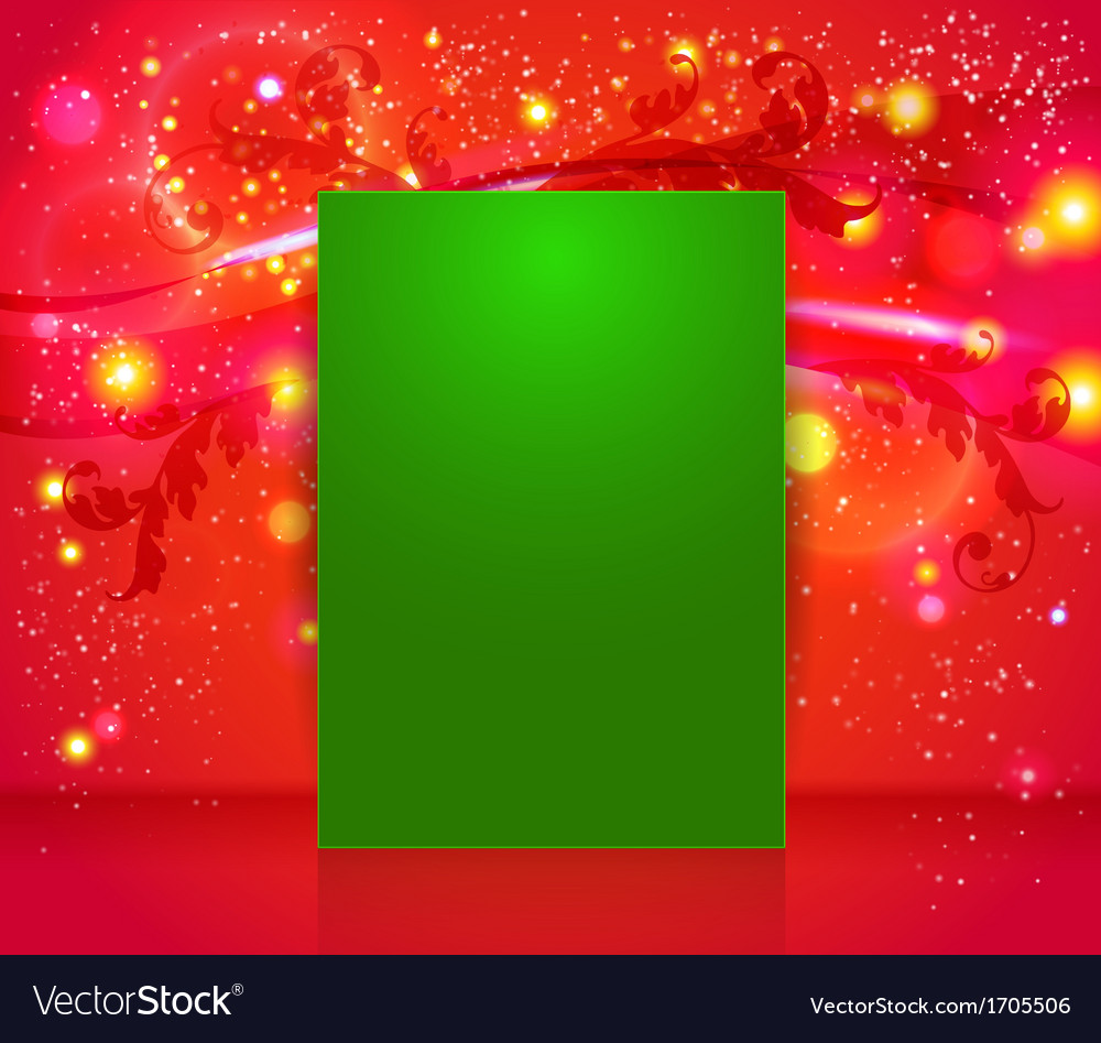 Bright and sparkling christmas page layout with vector | Price: 1 Credit (USD $1)