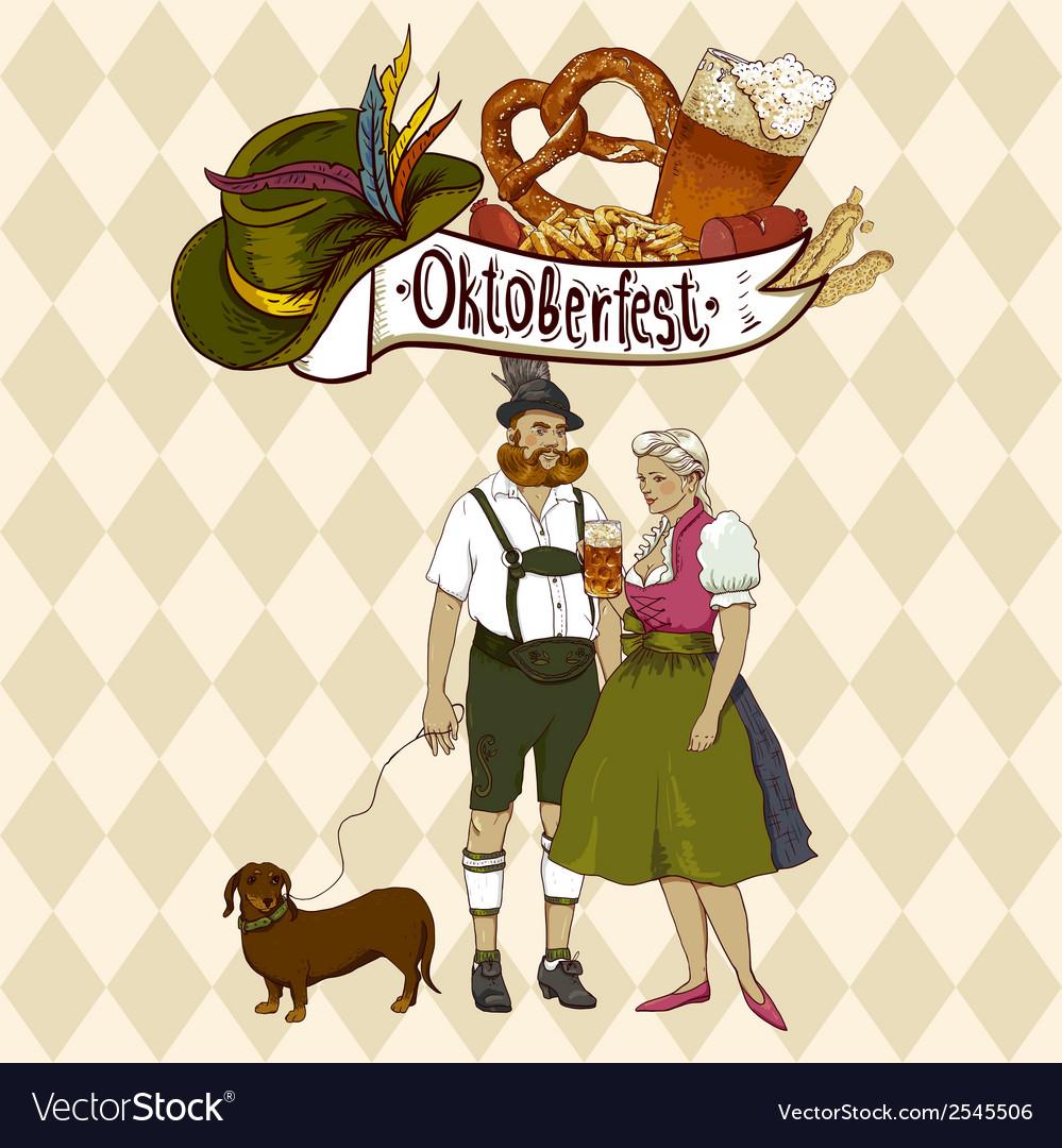 Oktoberfest celebration design vector | Price: 1 Credit (USD $1)