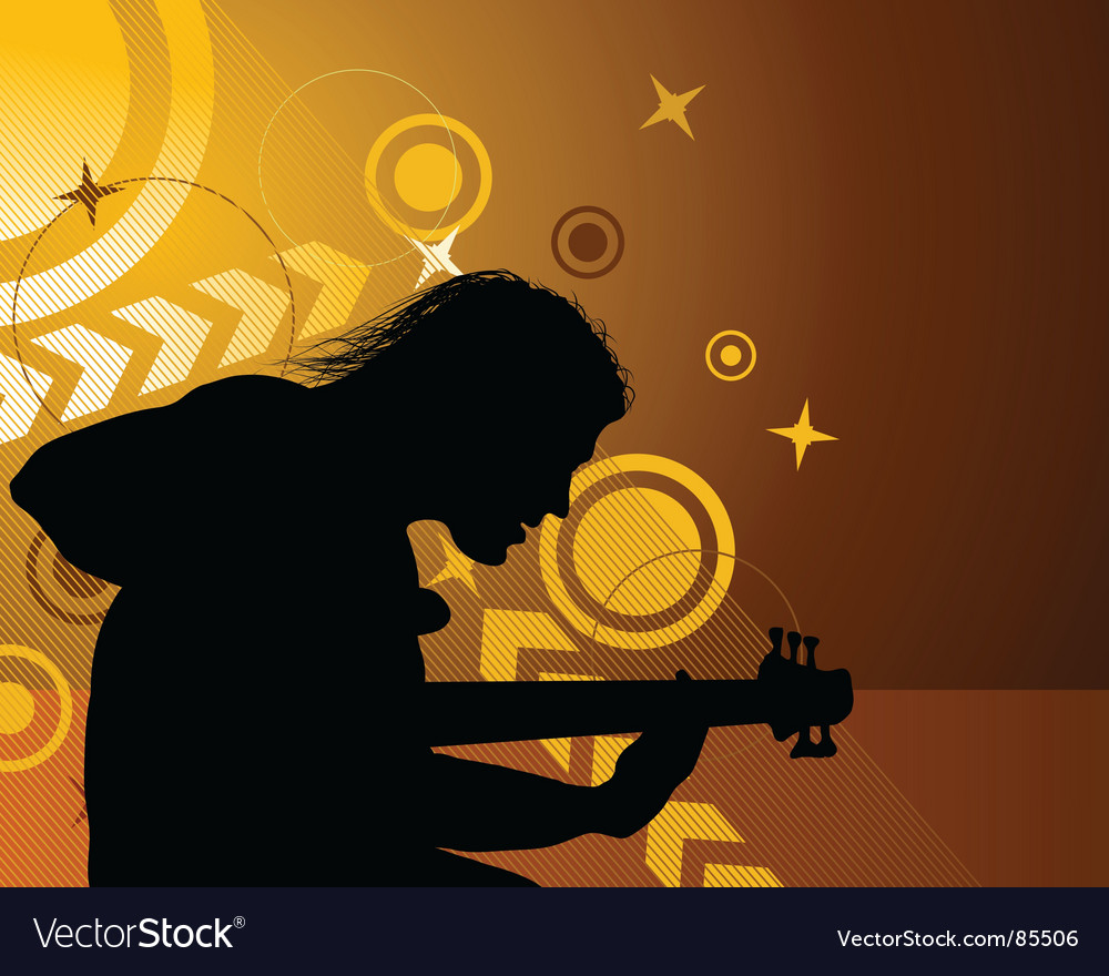 Rock group vector | Price: 1 Credit (USD $1)