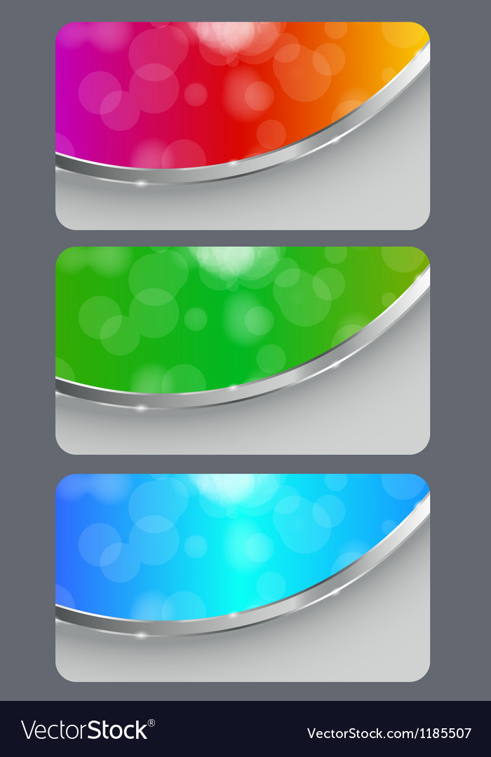 Brochure business card banner abstract background vector   Price: 1 Credit (USD $1)
