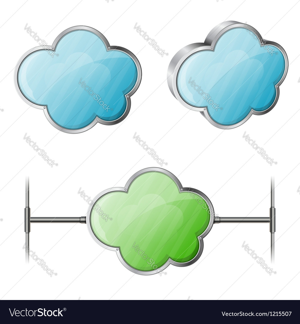 Cloud computing vector | Price: 1 Credit (USD $1)