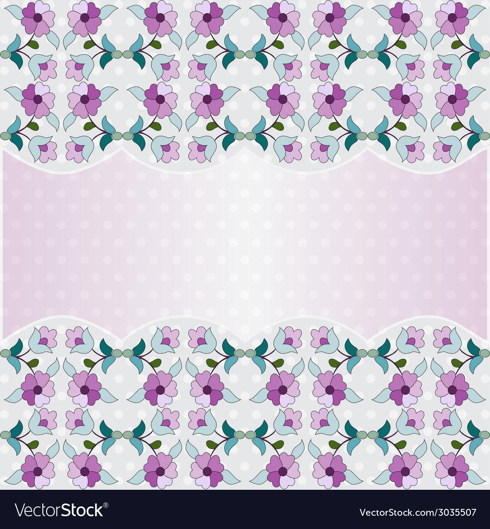 Floral background pictures vector | Price: 1 Credit (USD $1)