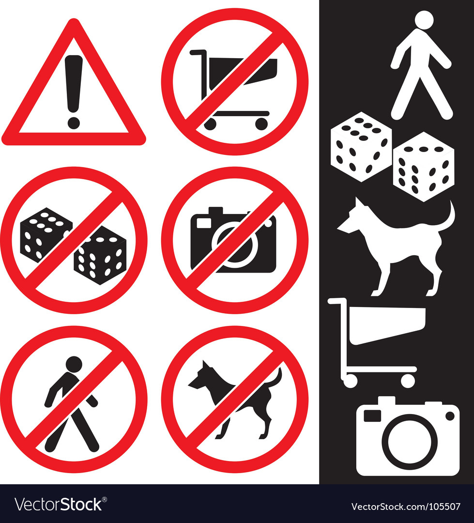 Icons safety vector | Price: 1 Credit (USD $1)