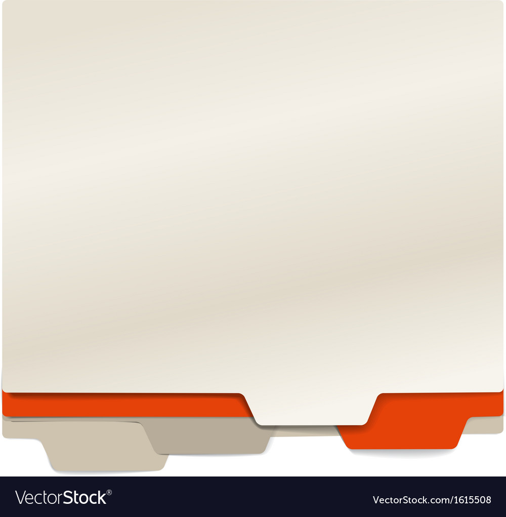 Background of color paper folders vector | Price: 1 Credit (USD $1)
