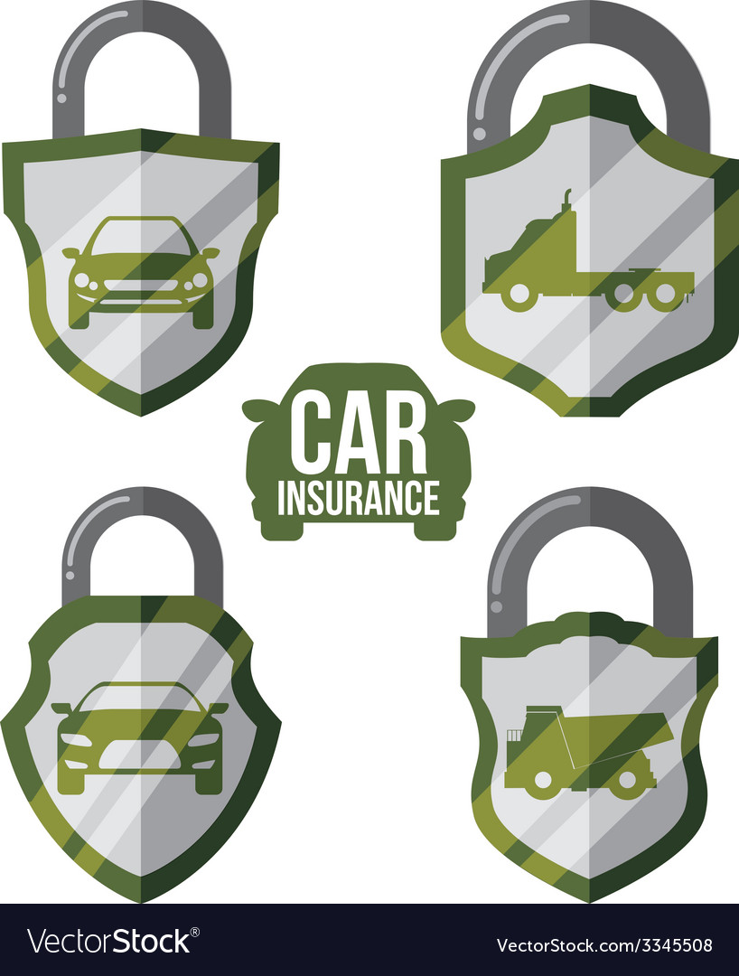 Car insurance design vector | Price: 1 Credit (USD $1)