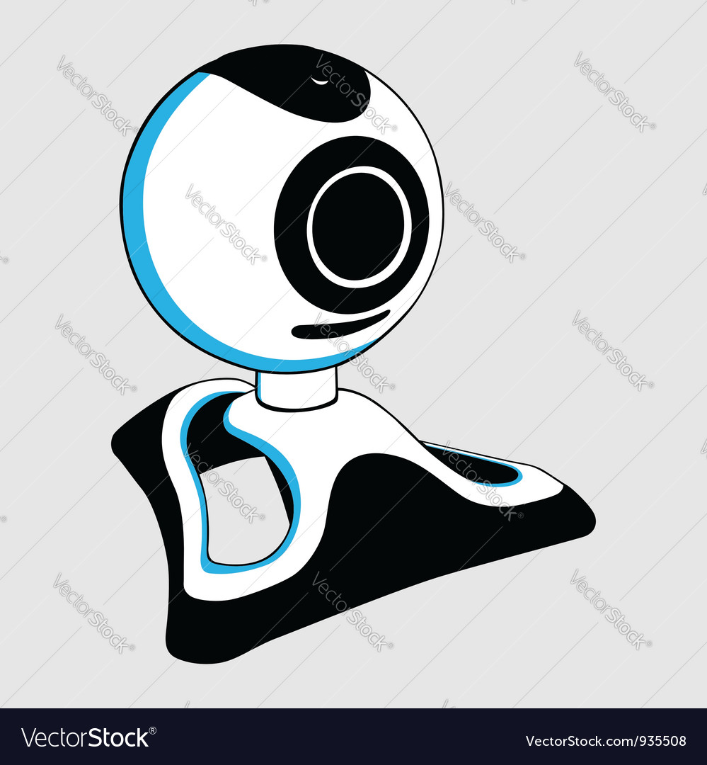Web camera vector | Price: 1 Credit (USD $1)