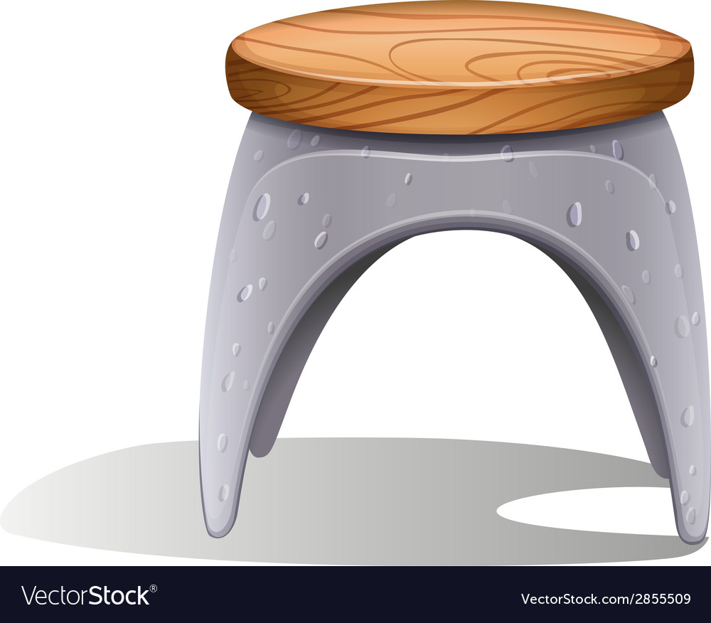 A plastic chair vector | Price: 1 Credit (USD $1)