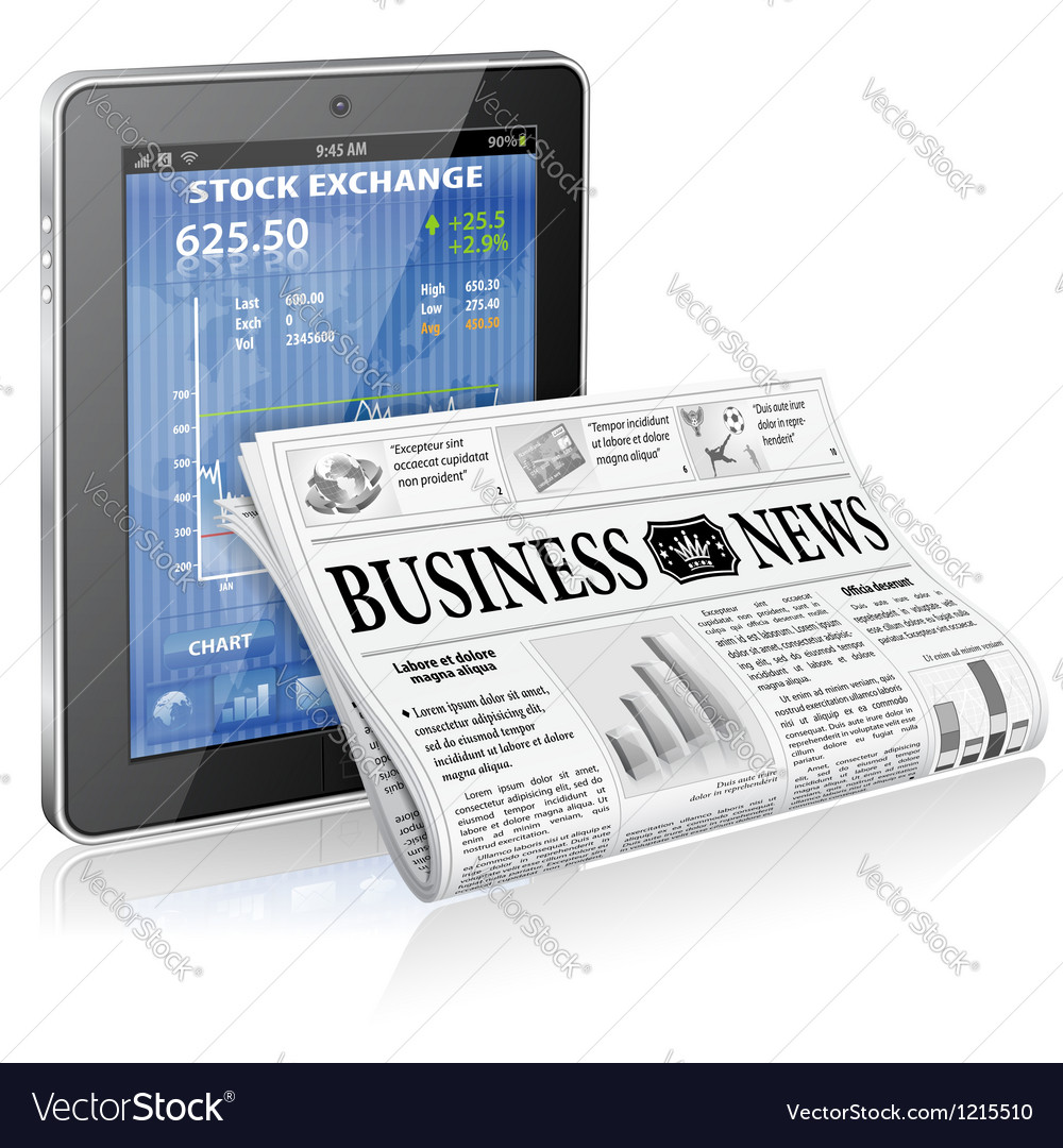 Business and news concept vector | Price: 3 Credit (USD $3)
