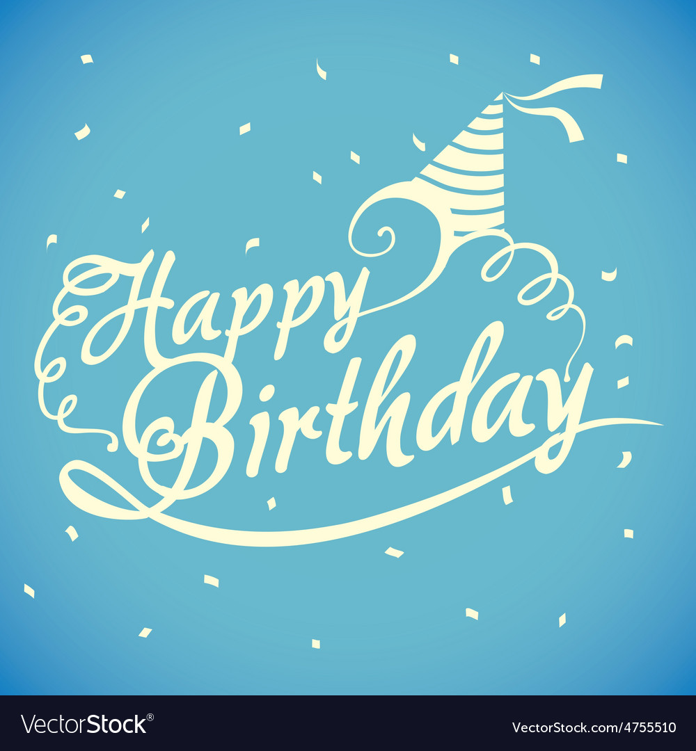 Happy birthday design vector | Price: 1 Credit (USD $1)