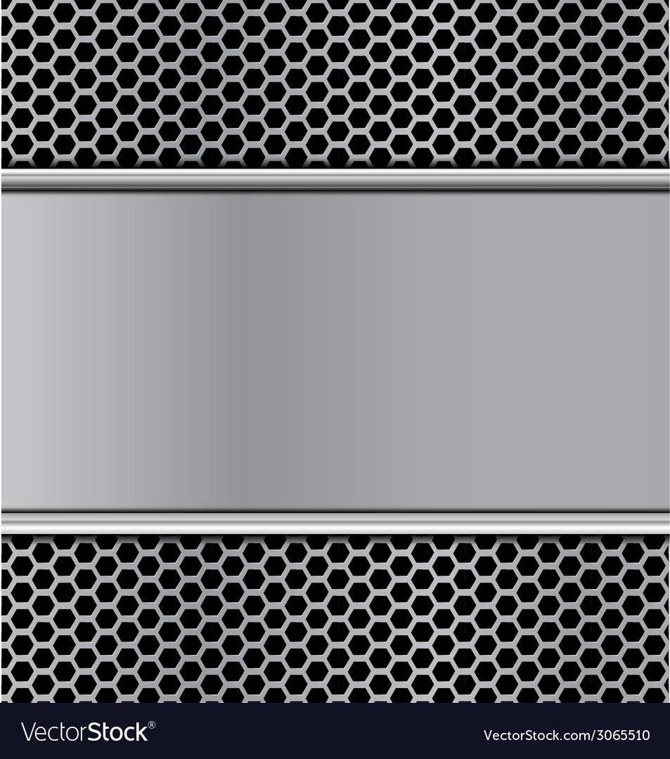 Metal texture on hex stan vector | Price: 1 Credit (USD $1)