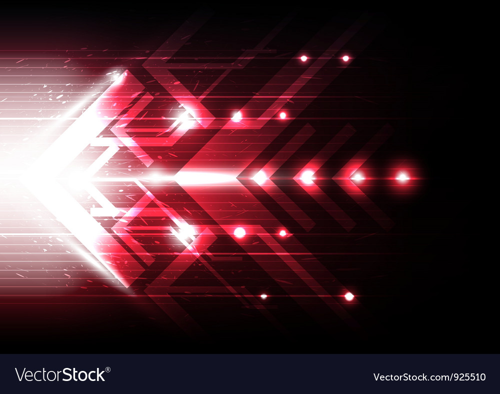 Red motion arrow vector | Price: 1 Credit (USD $1)