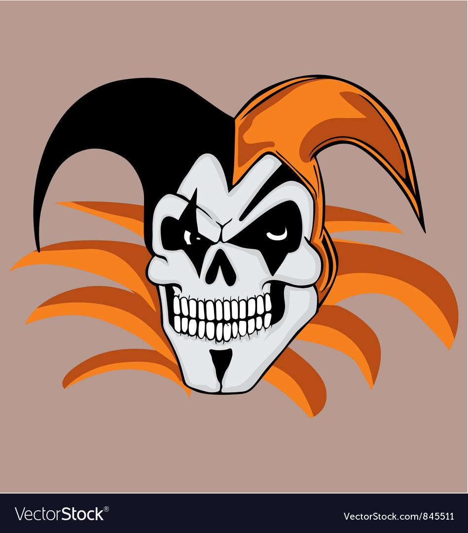 Jokerskull vector