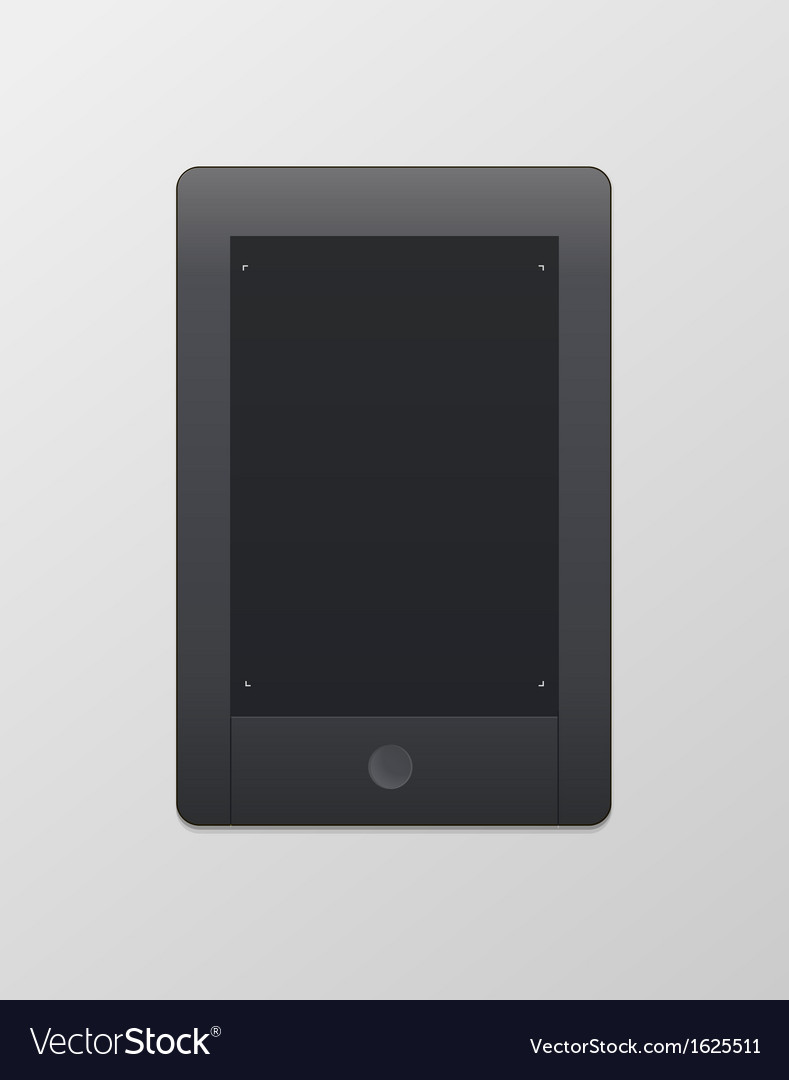 Tablet computer vector | Price: 1 Credit (USD $1)