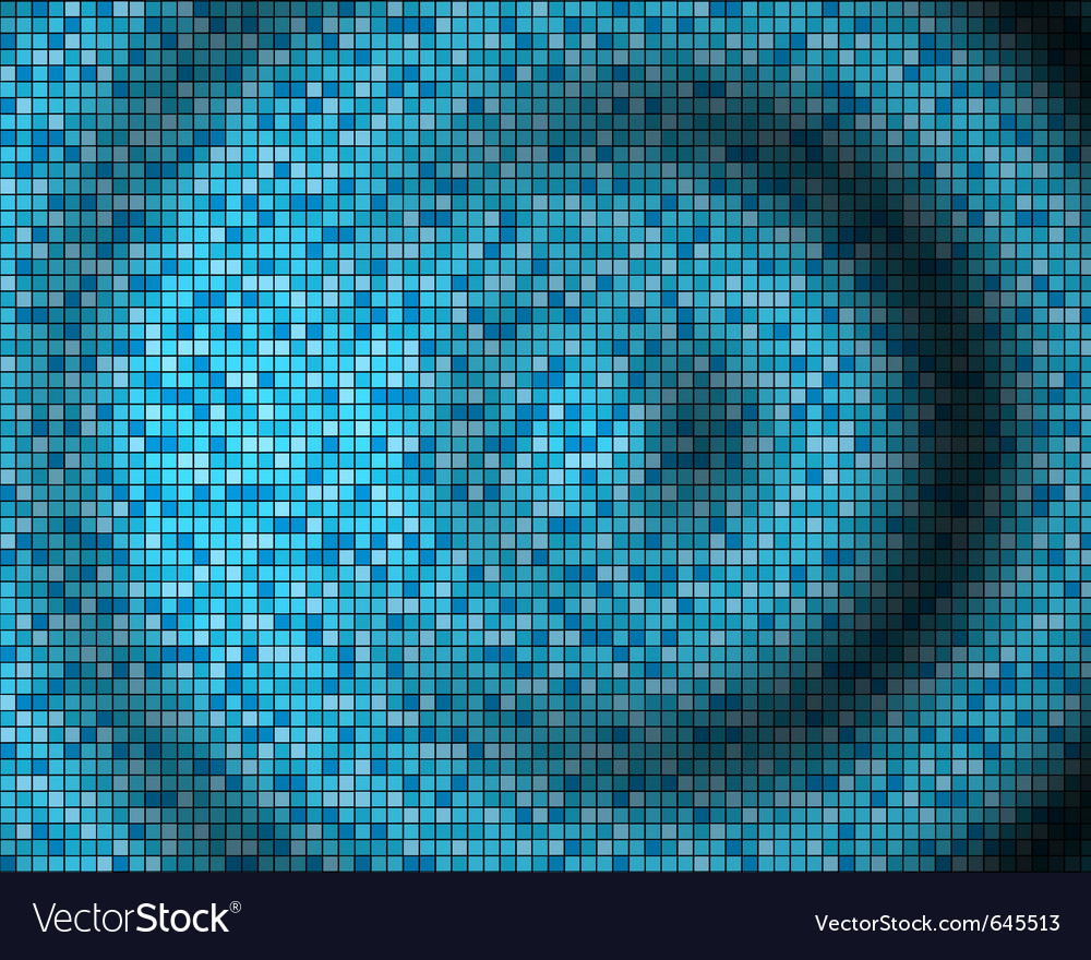 Abstract mosaic 3d amplitude waves vector | Price: 1 Credit (USD $1)