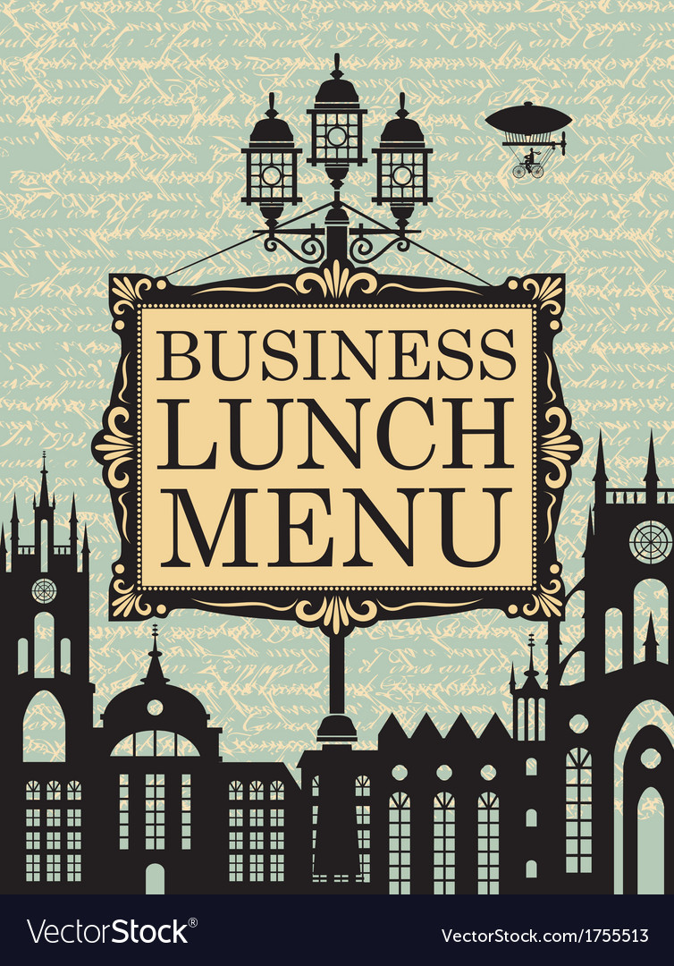 Business lunches vector | Price: 3 Credit (USD $3)