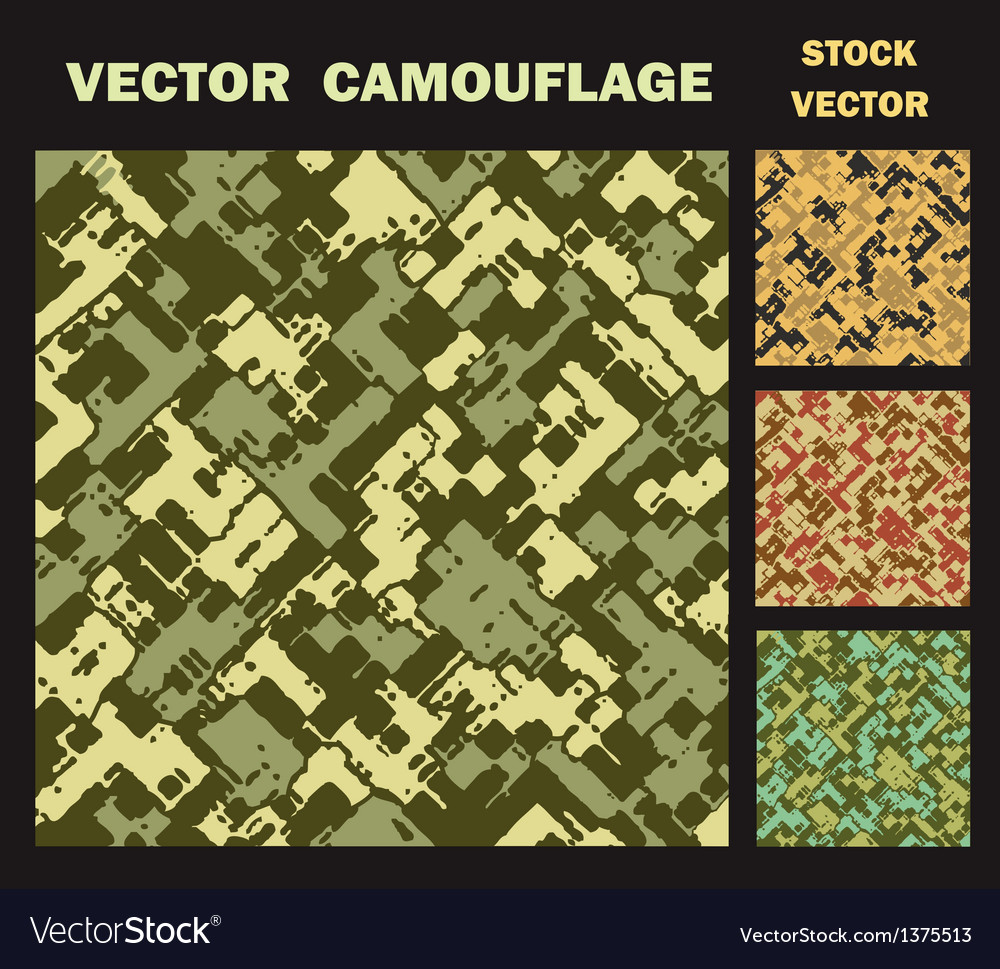Camouflage vector | Price: 1 Credit (USD $1)