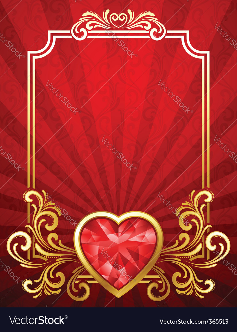 Valentines day background vector   Price: 3 Credit (USD $3)