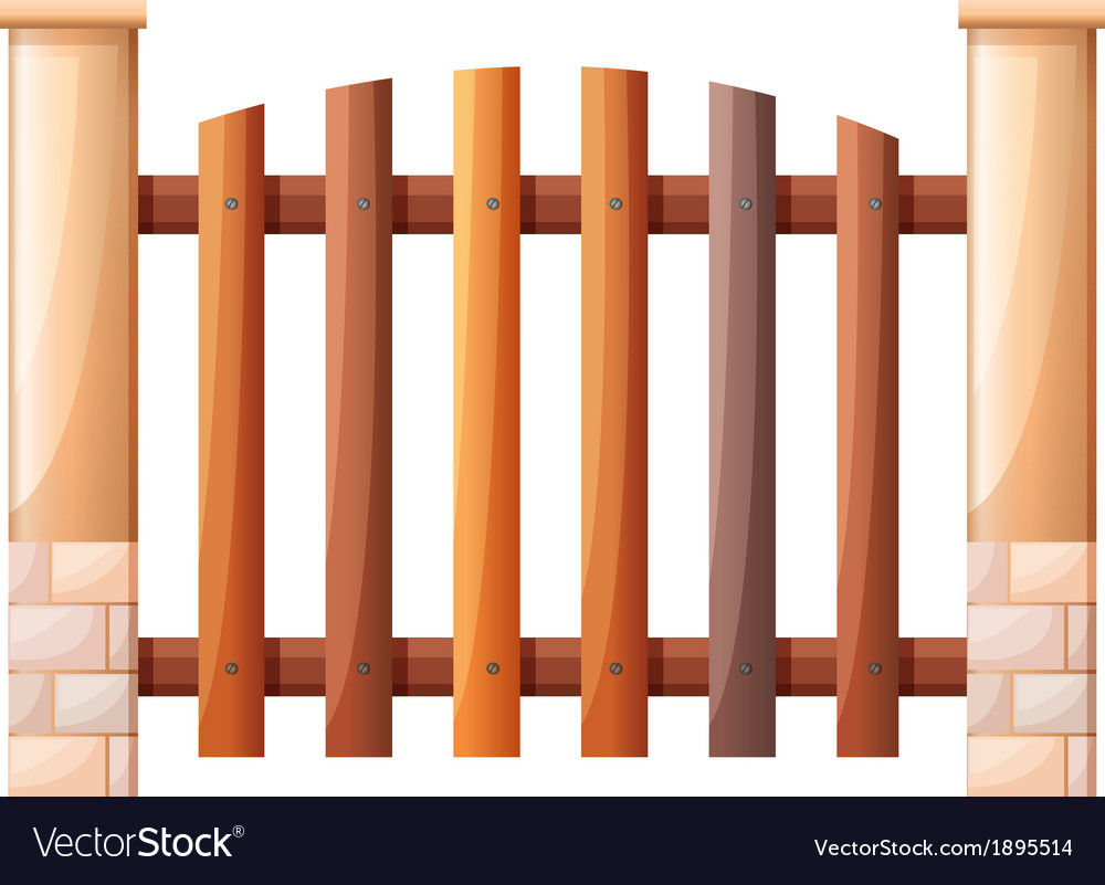 A vertical fence vector | Price: 1 Credit (USD $1)
