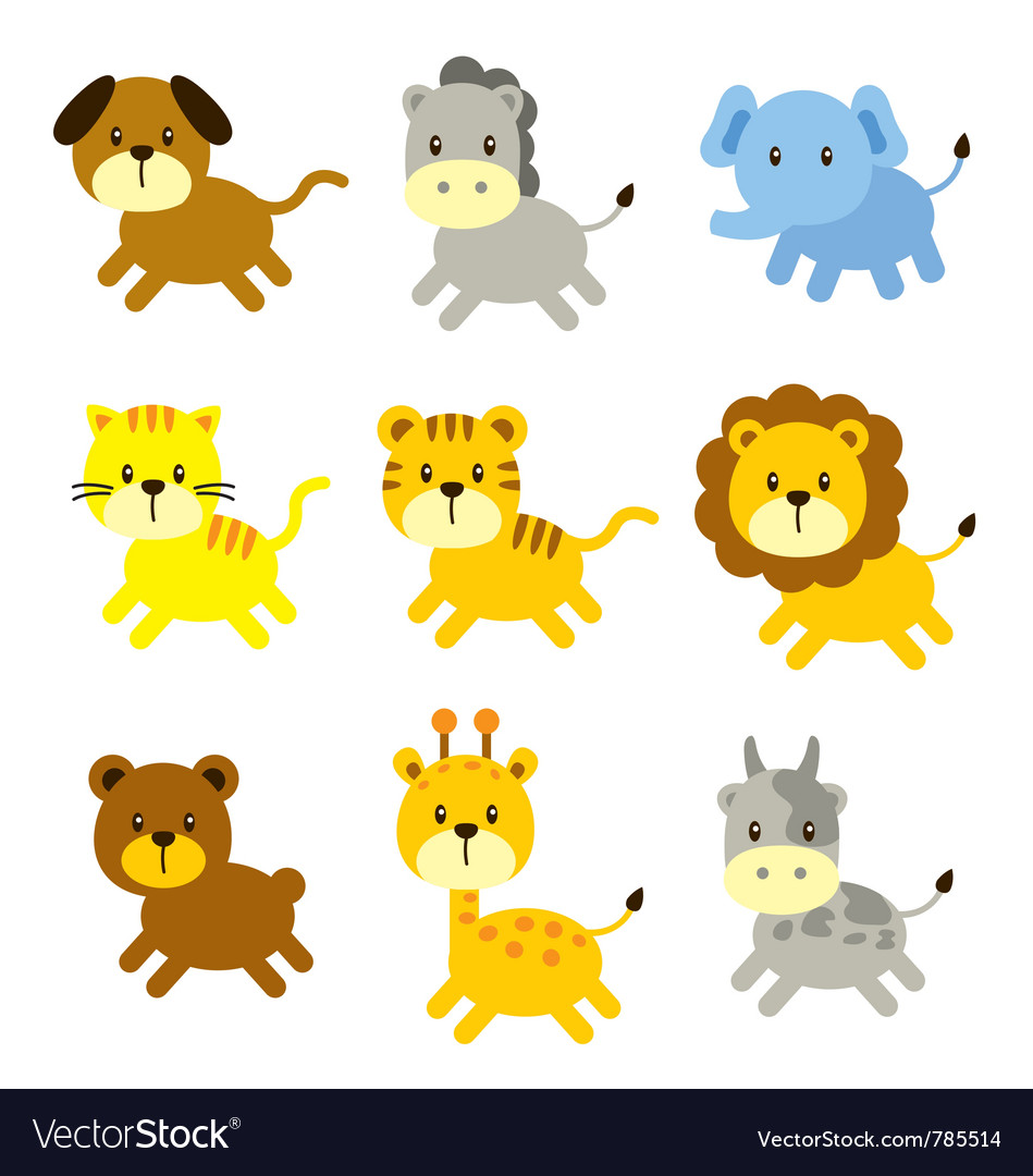 Animal cartoon vector | Price: 1 Credit (USD $1)
