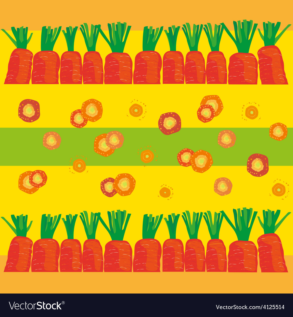 Carrot background vector | Price: 1 Credit (USD $1)