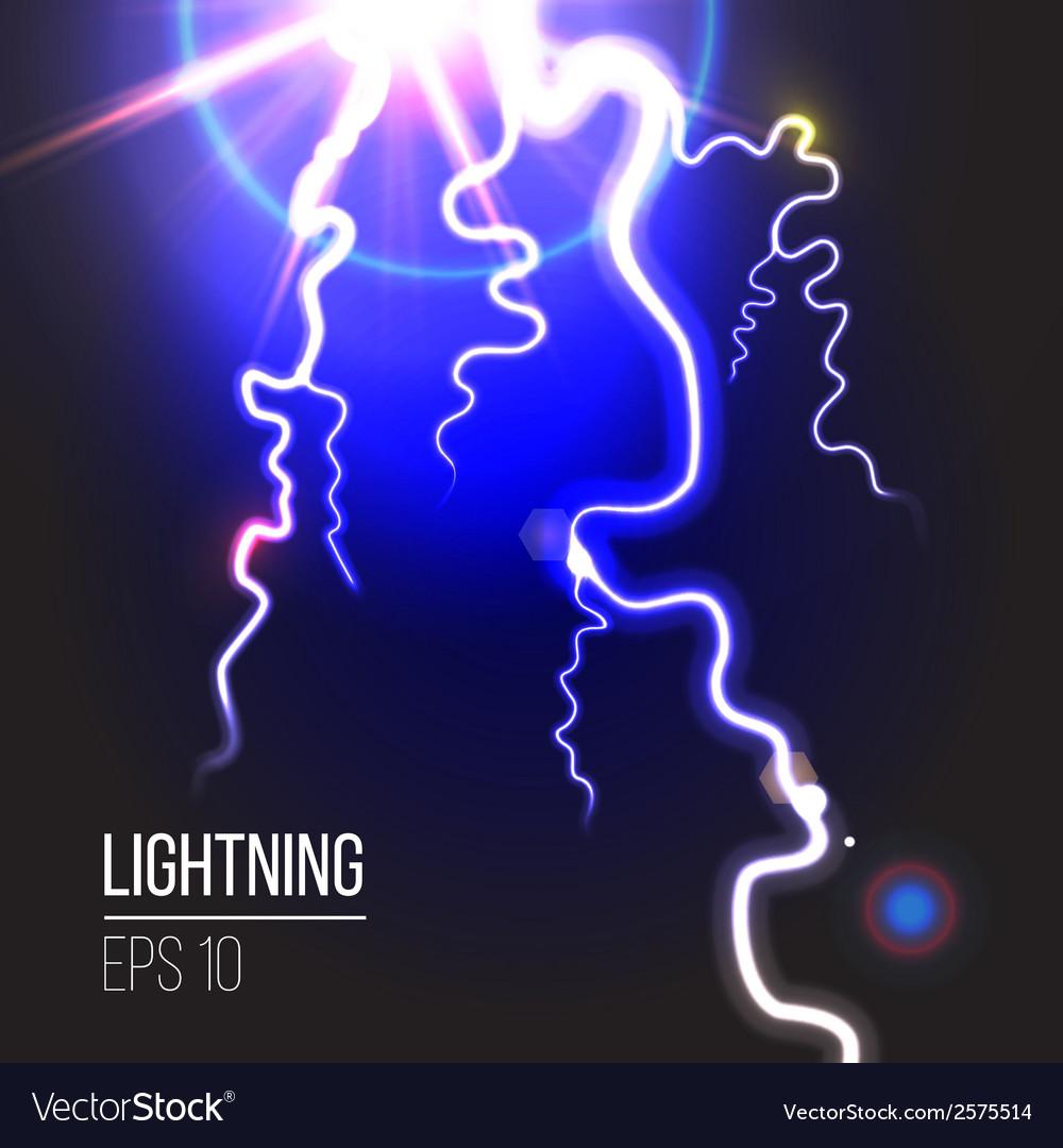Electric lighting vector | Price: 1 Credit (USD $1)