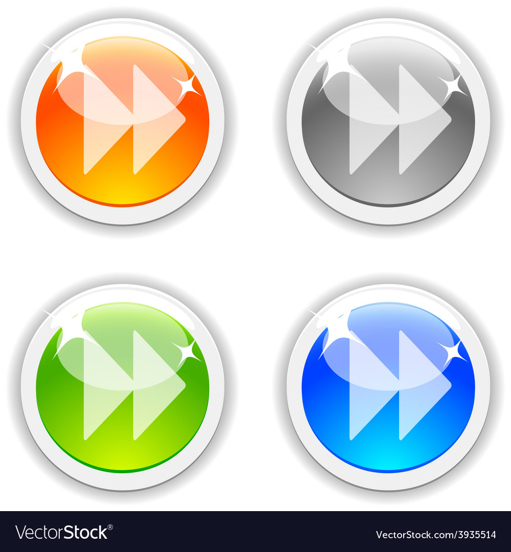 Forward buttons vector | Price: 1 Credit (USD $1)