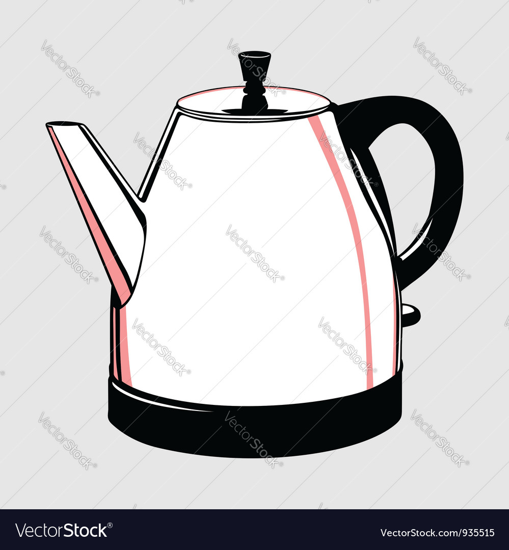 Electric kettle vector | Price: 1 Credit (USD $1)