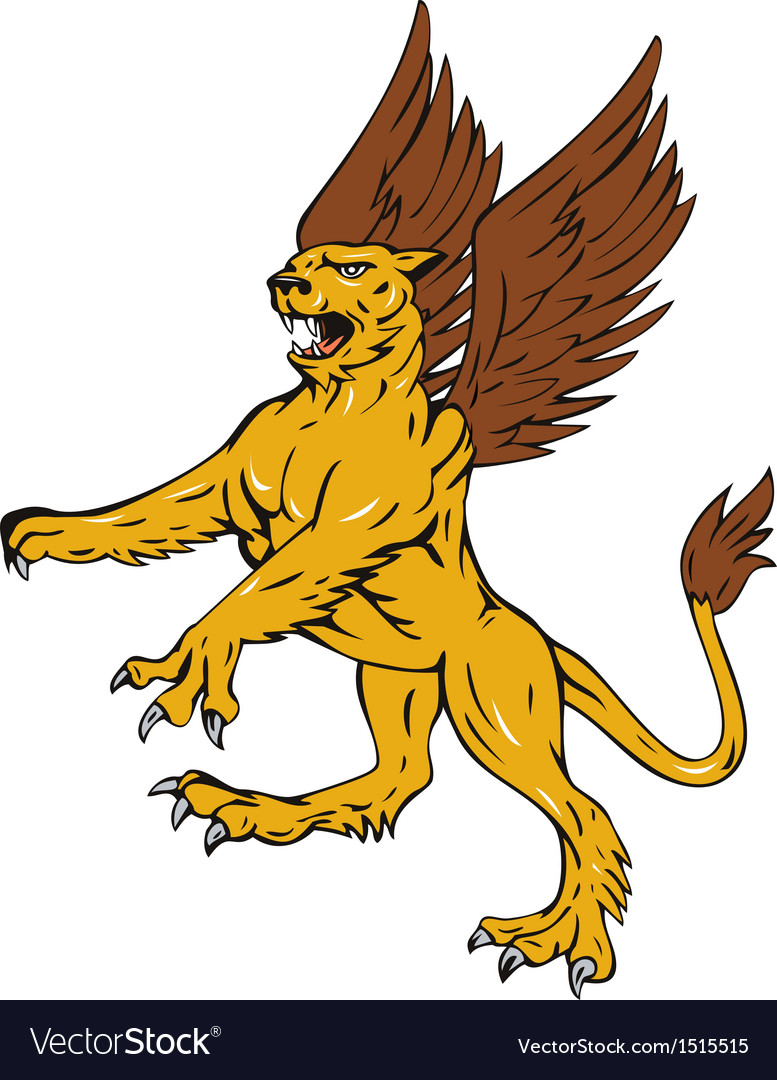 Griffin lion vector | Price: 1 Credit (USD $1)