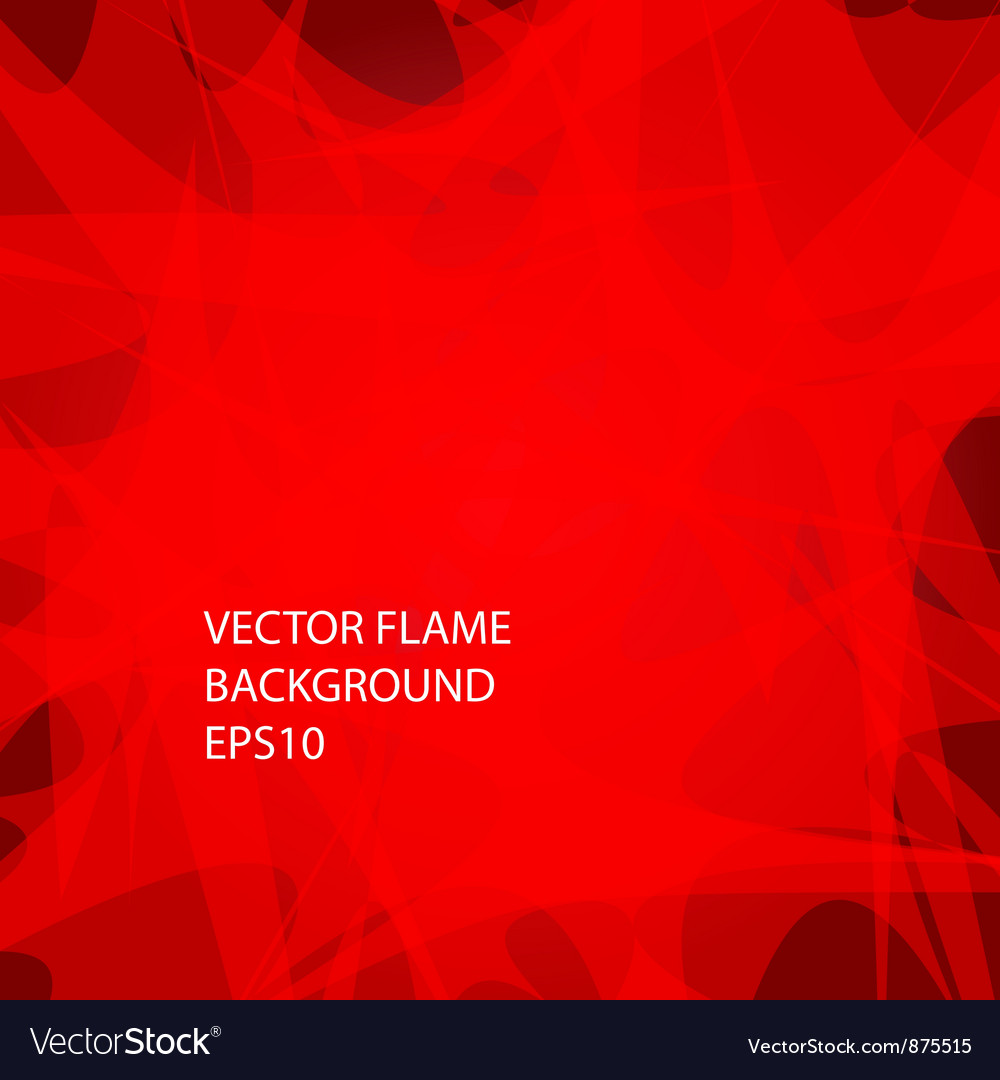 Red fire background vector | Price: 1 Credit (USD $1)