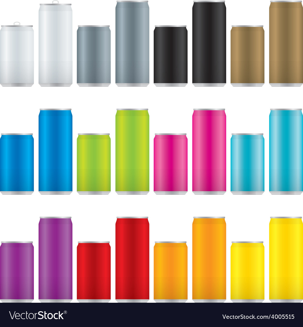 Soda cans vector   Price: 1 Credit (USD $1)