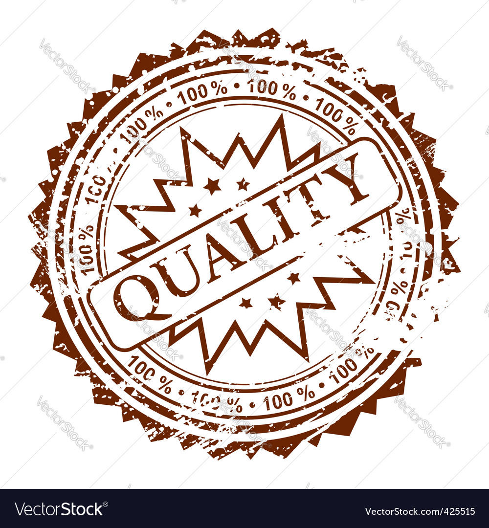 Stamp quality vector | Price: 1 Credit (USD $1)