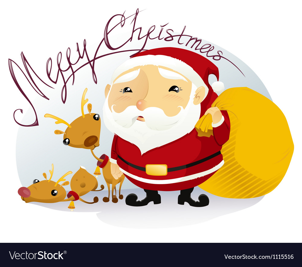 Merry christmas vector | Price: 3 Credit (USD $3)