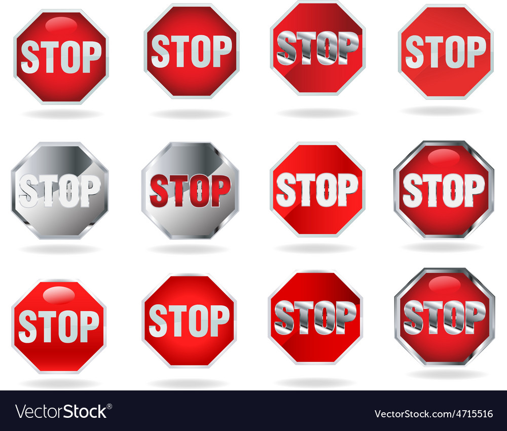Stop new resize vector   Price: 1 Credit (USD $1)