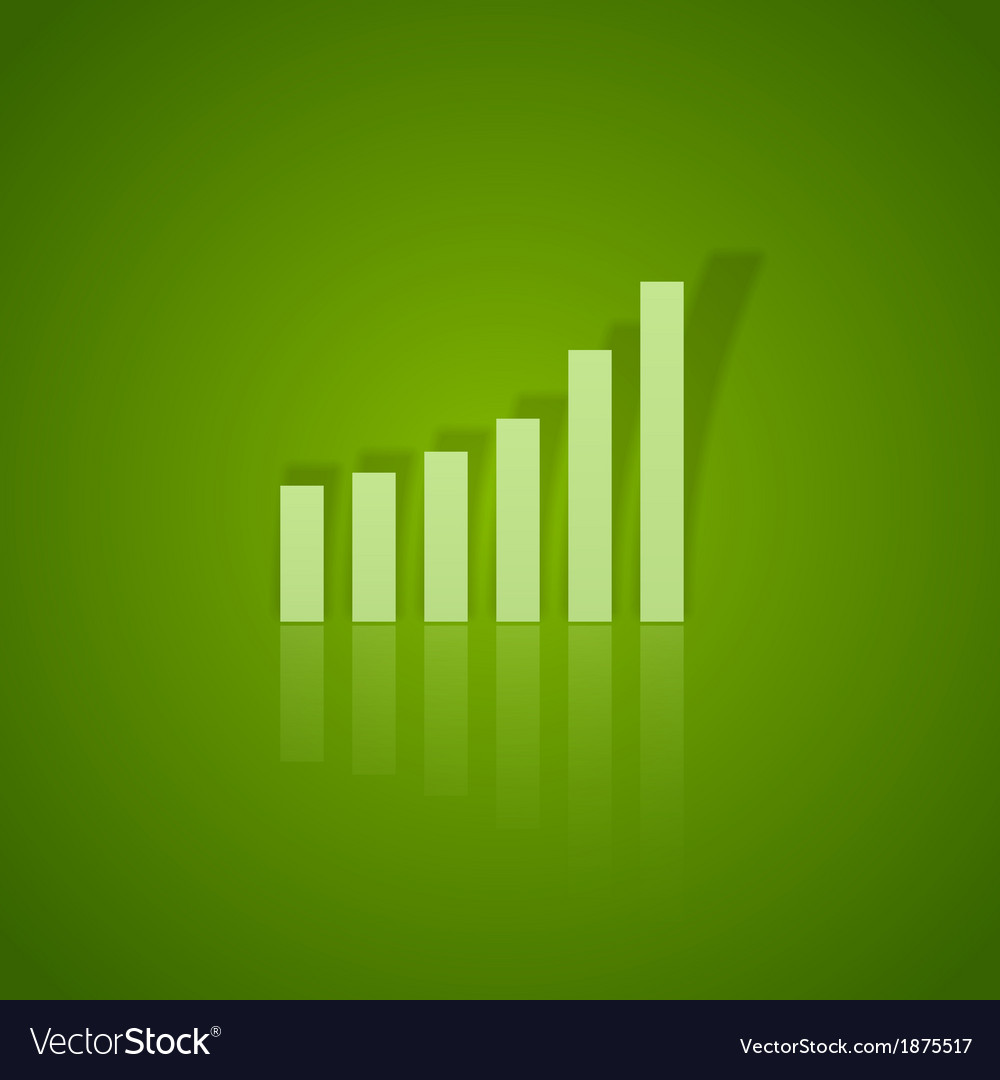 Business graph up vector | Price: 1 Credit (USD $1)