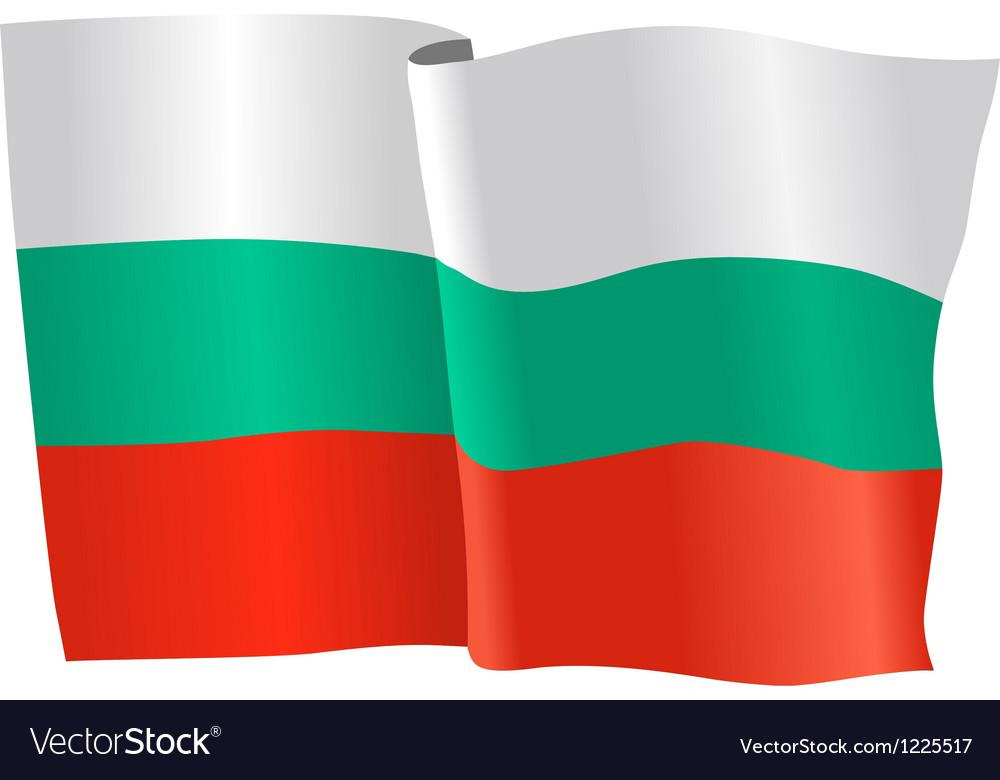 Flag of bulgaria vector | Price: 1 Credit (USD $1)
