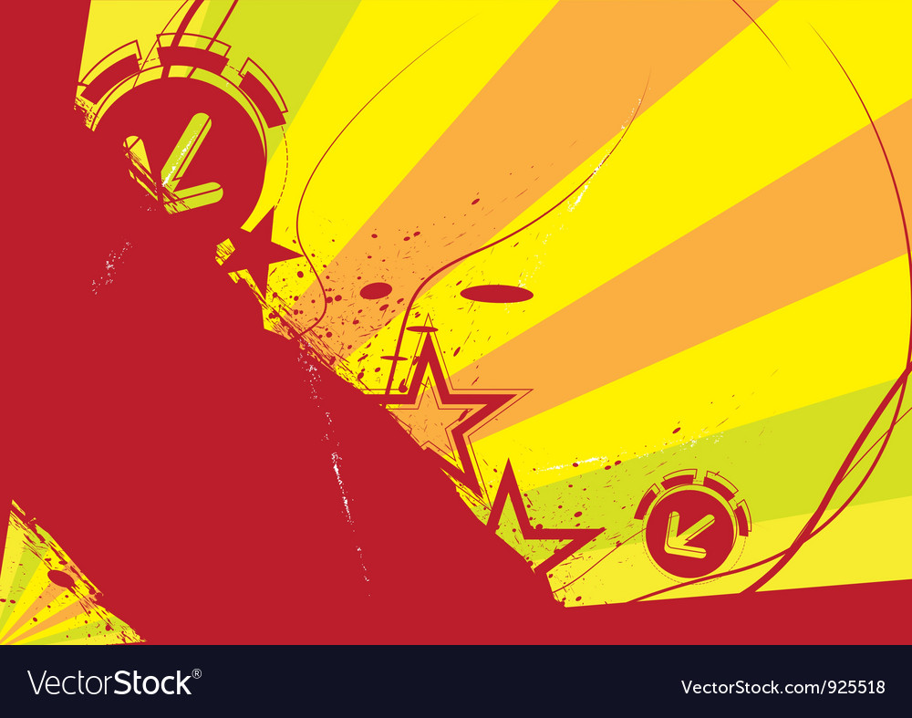 Grunge banner design vector | Price: 1 Credit (USD $1)