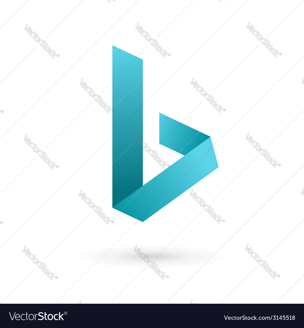 Letter b logo icon design template elements vector   Price: 1 Credit (USD $1)