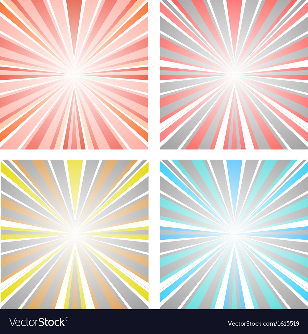 Abstract sunset vector | Price: 1 Credit (USD $1)