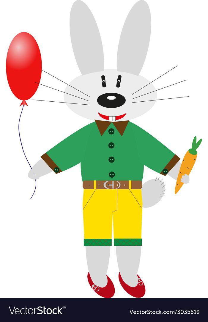 Cartoon bunny vector | Price: 1 Credit (USD $1)