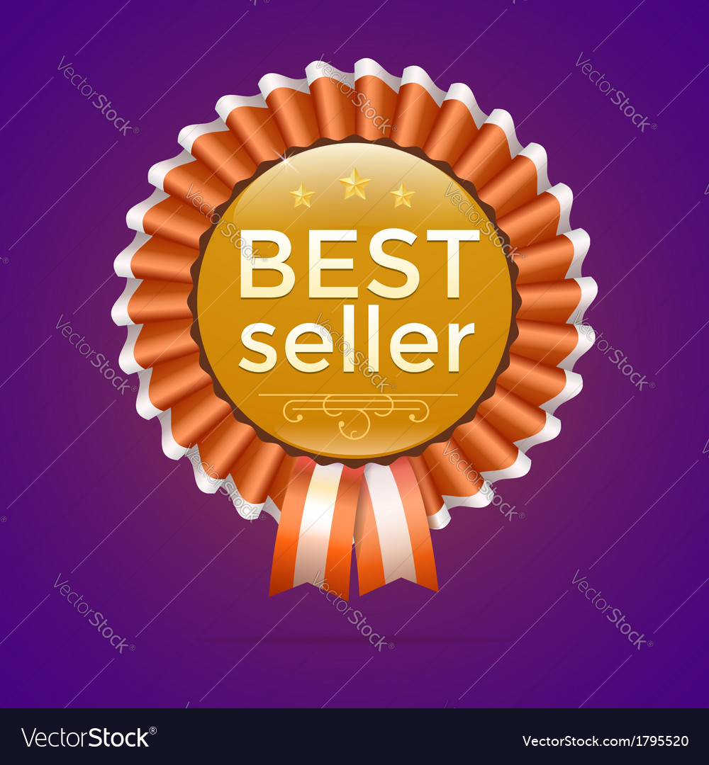 Best seller gold sign label template vector | Price: 1 Credit (USD $1)