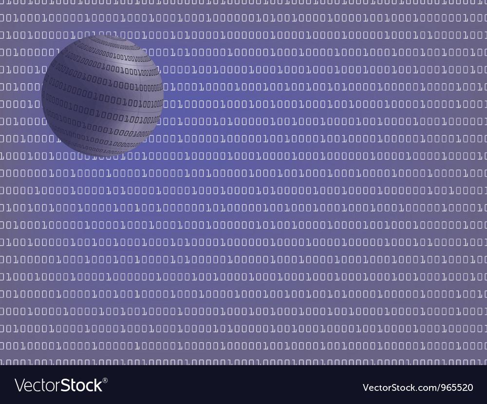 Binary code vector | Price: 1 Credit (USD $1)