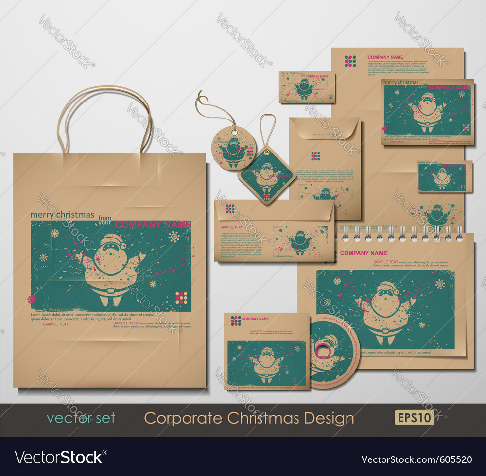 Christmas branding vector | Price: 5 Credit (USD $5)