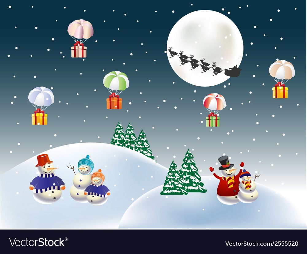 Christmas gifts vector   Price: 1 Credit (USD $1)