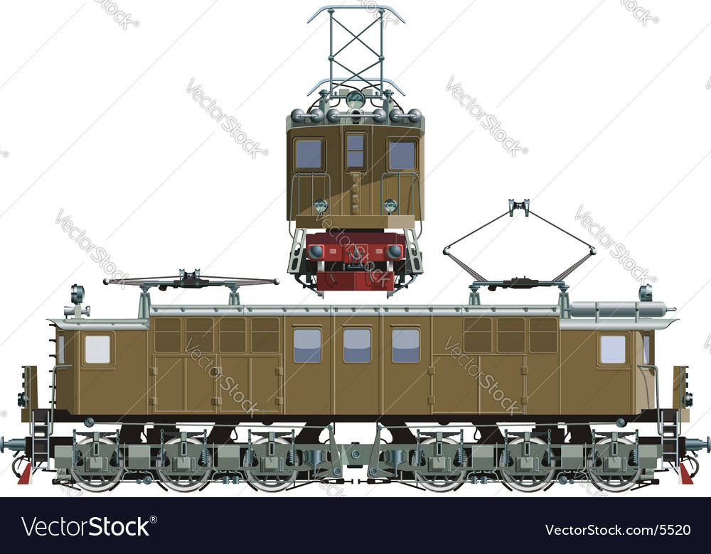 Locomotive vl vector | Price: 3 Credit (USD $3)