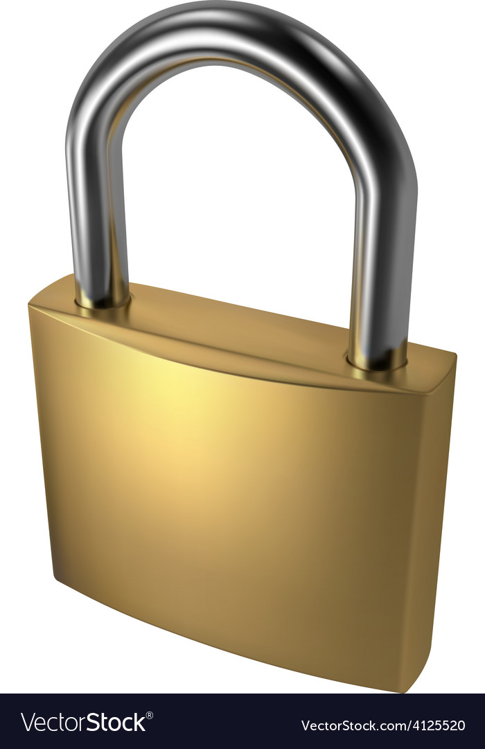 Padlock vector | Price: 1 Credit (USD $1)