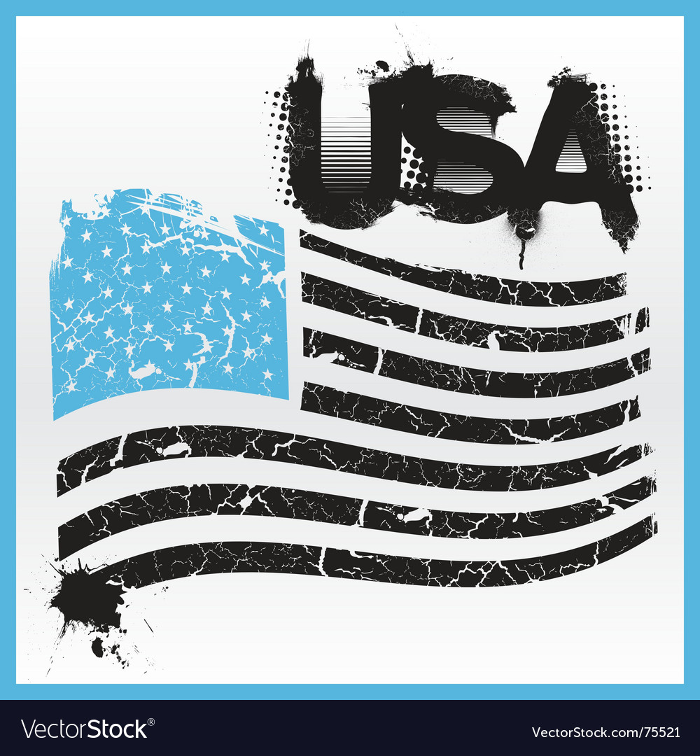 American grunge vector | Price: 1 Credit (USD $1)